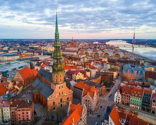 RigaOldTown_in_latvia_studies